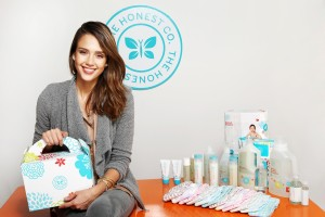 Jessica Alba and products