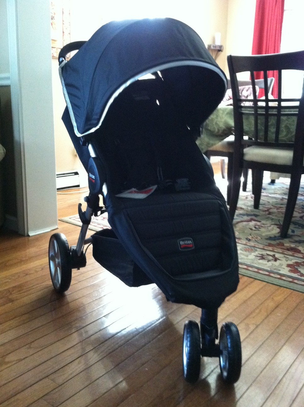 review britax b agile stroller the mod mommy. Black Bedroom Furniture Sets. Home Design Ideas