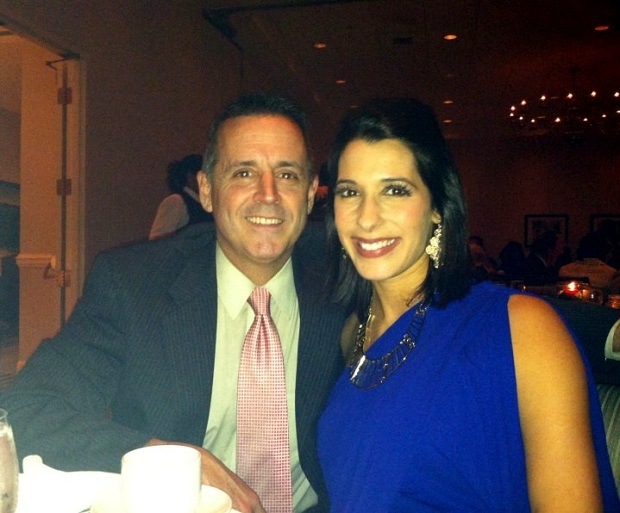 Walt and I at this year&#039;s work holiday party. December 2012.