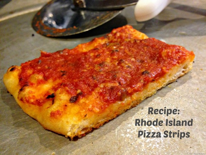 Rhode Island Red Pizza