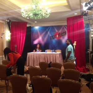 Our room for the press conference with Meryl Streep Rickhellip