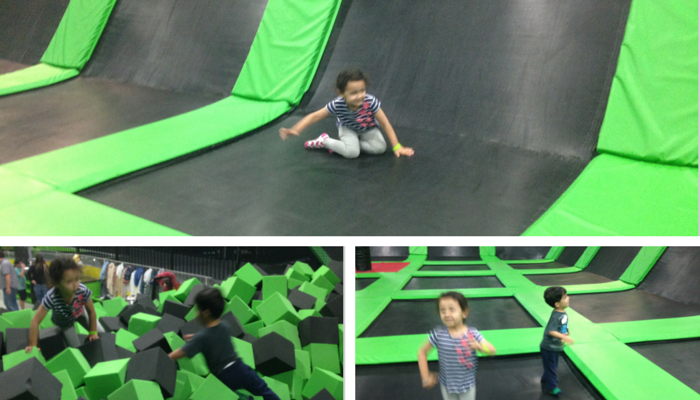 Family Fun For All Ages at Launch Trampoline Park