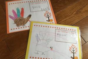 DIY Kids Thanksgiving Place Mat